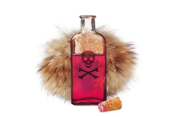 Токсична козина (ценни кожи)