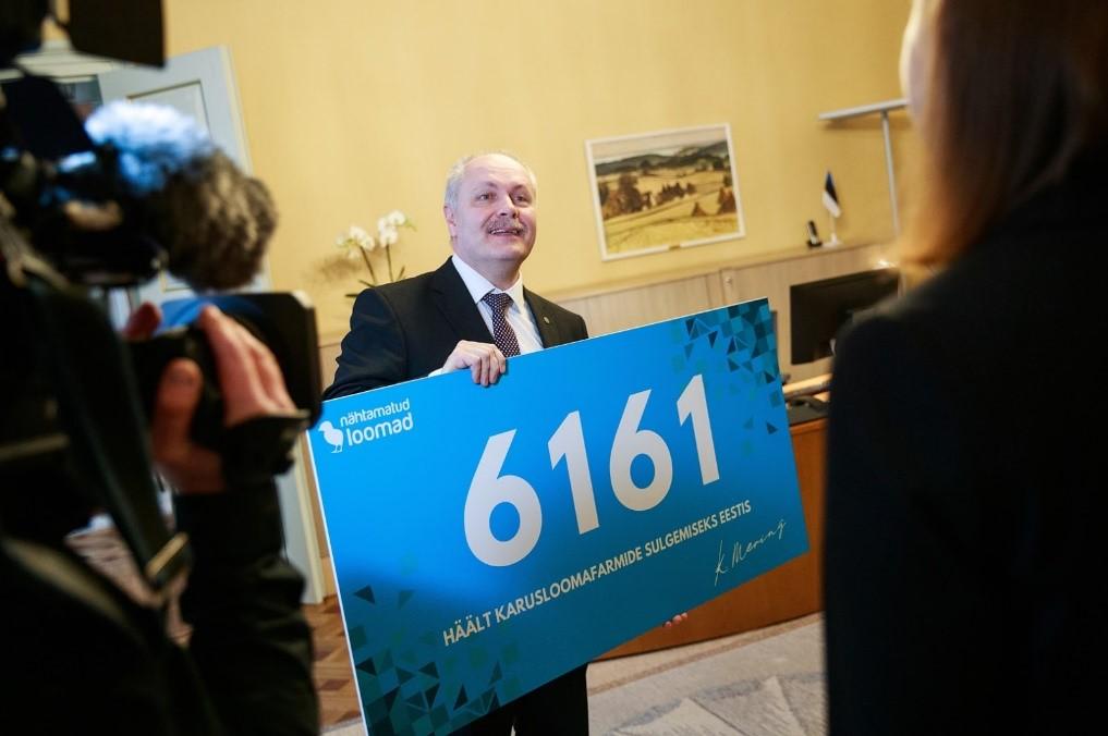 Активисти подават нова петиция за закриване на ферми за ценни кожи към естонския парламент